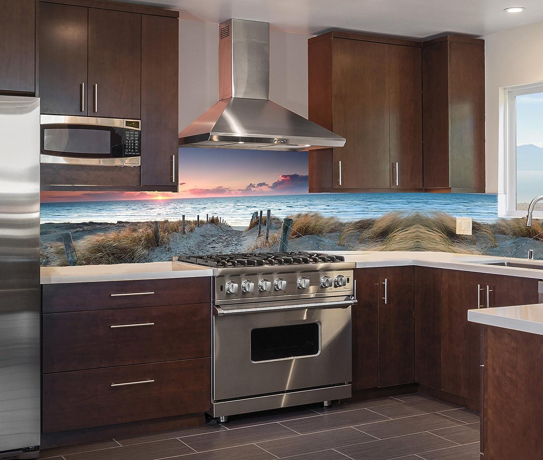 Acrylglas Spritzschutz Herd Küchenrückwand Fliesenspiegel alle Größen SP445