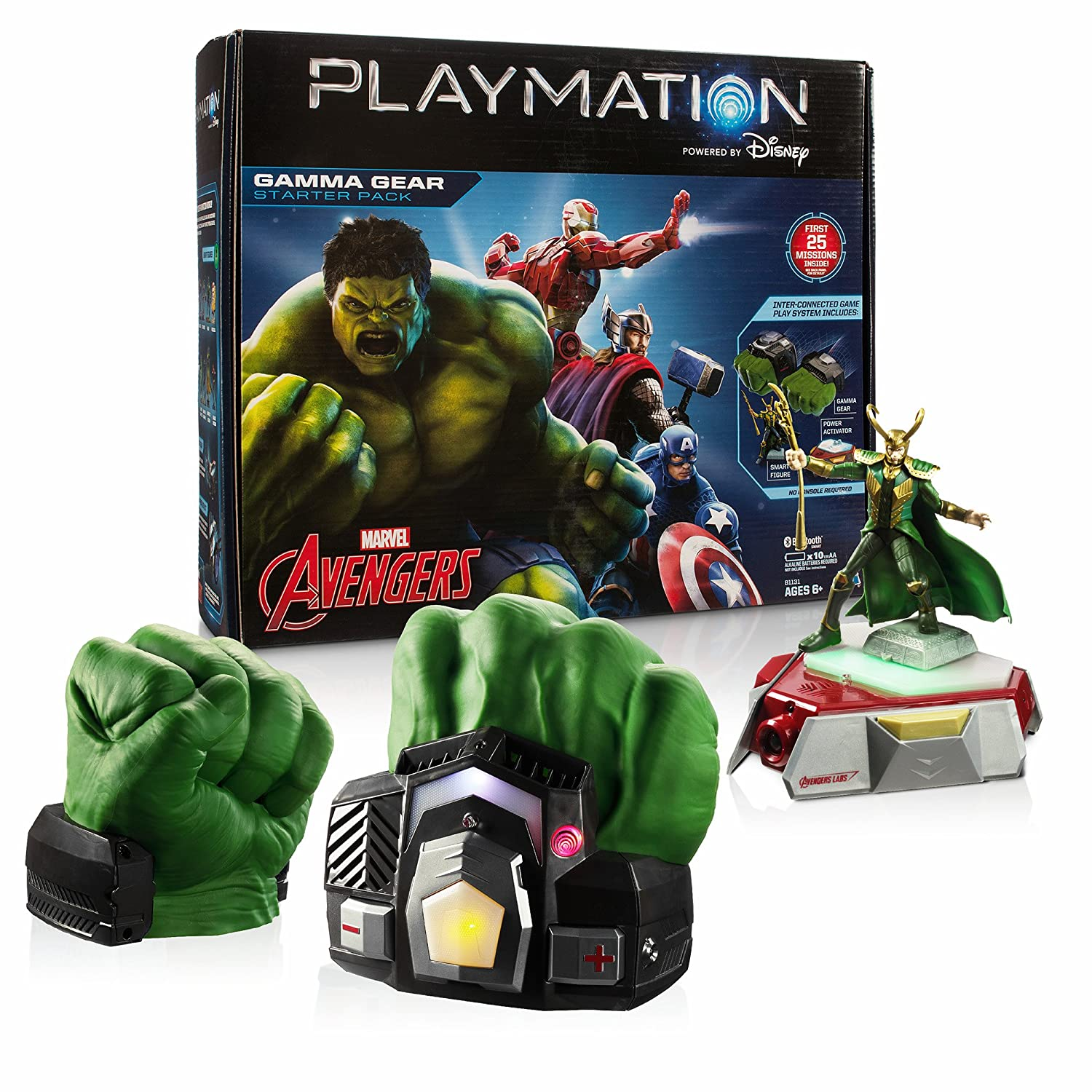 Amazon Playmation Marvel Avengers Starter Pack Gamma Gear