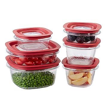 Amazon.com: Rubbermaid Premier Food Storage Container, 1.25 cups ...
