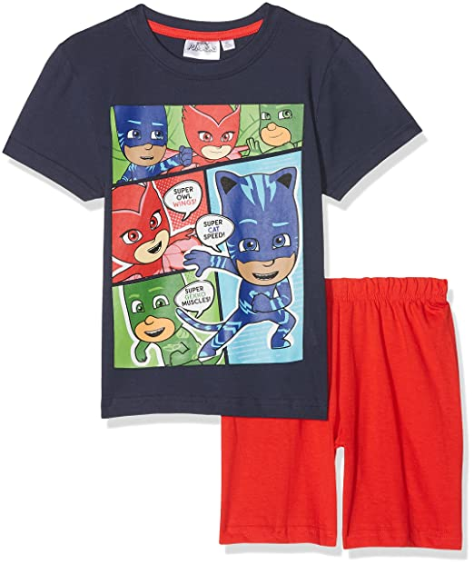 PJ Masks Chicos Pijama mangas cortas - Blanco - 98