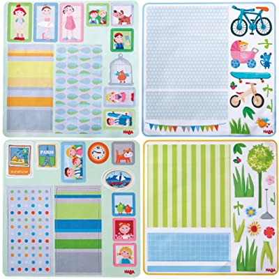 HABA Little Friends Dollhouse Decor Decals: Toys & Games