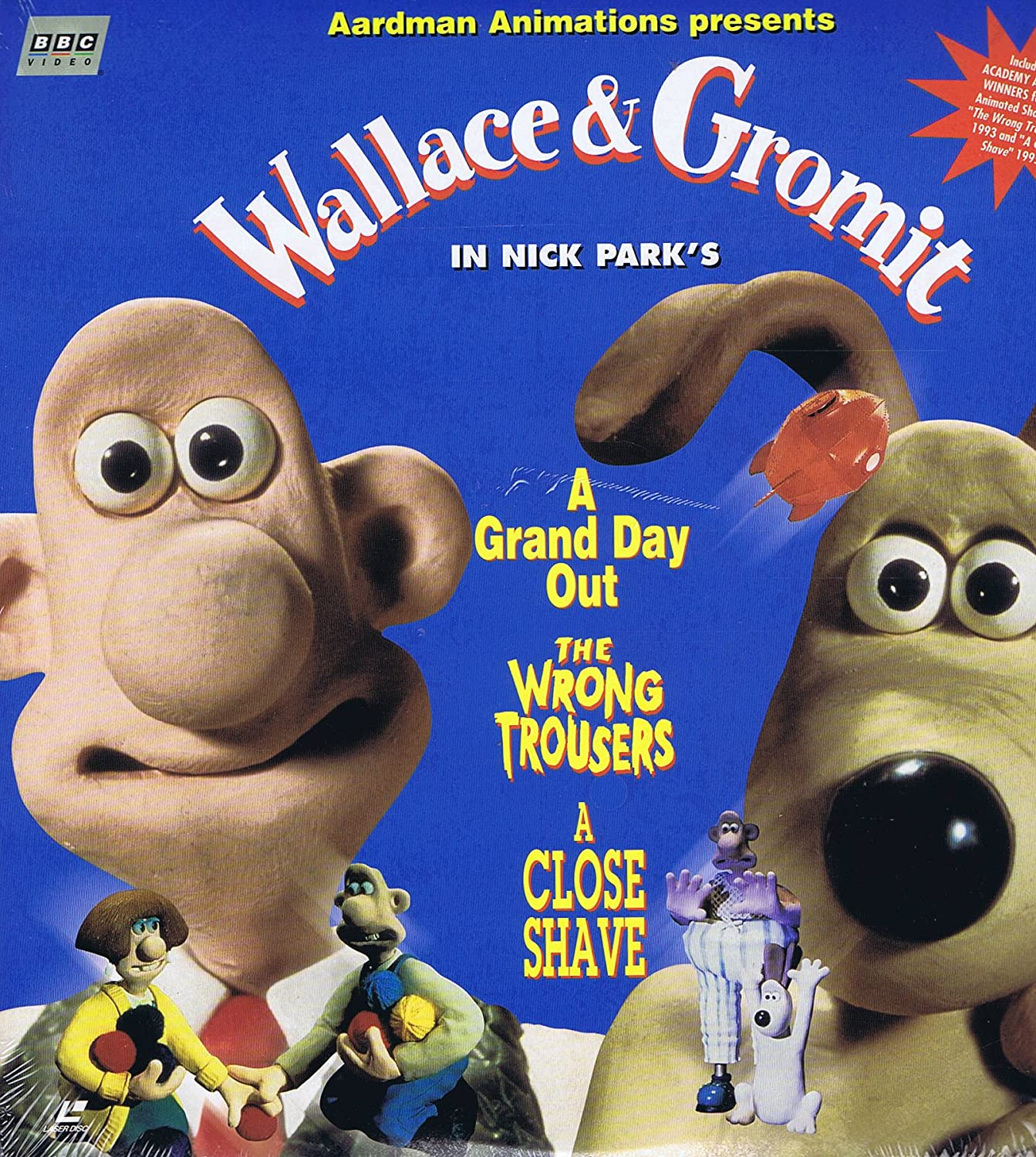 Aardman Wallace /& Gromit The Wrong Trousers Ceramic 3D Desk Tidy Boxed