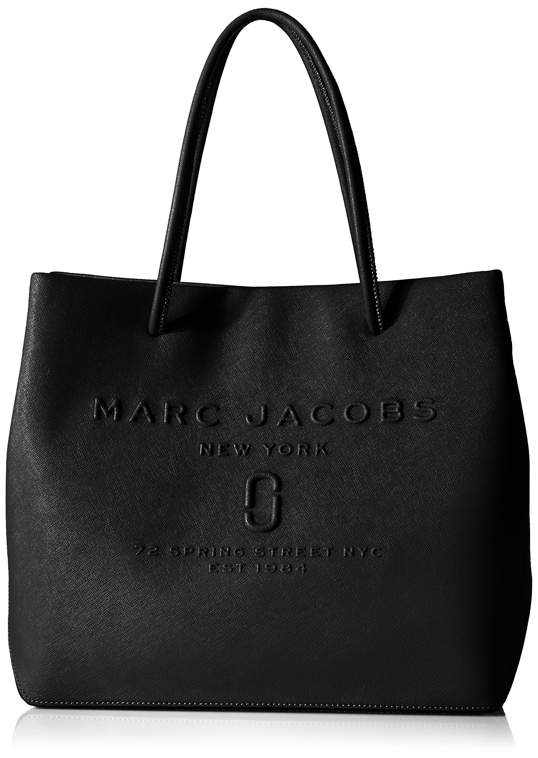 Marc Jacobs Women's Logo Shopper Ew Tote, Black