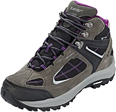Hi-Tec Altitude VI Lite Mid i WP Shoes Women charcoal/black/amaranth UK 4 ABcjmY3vCa