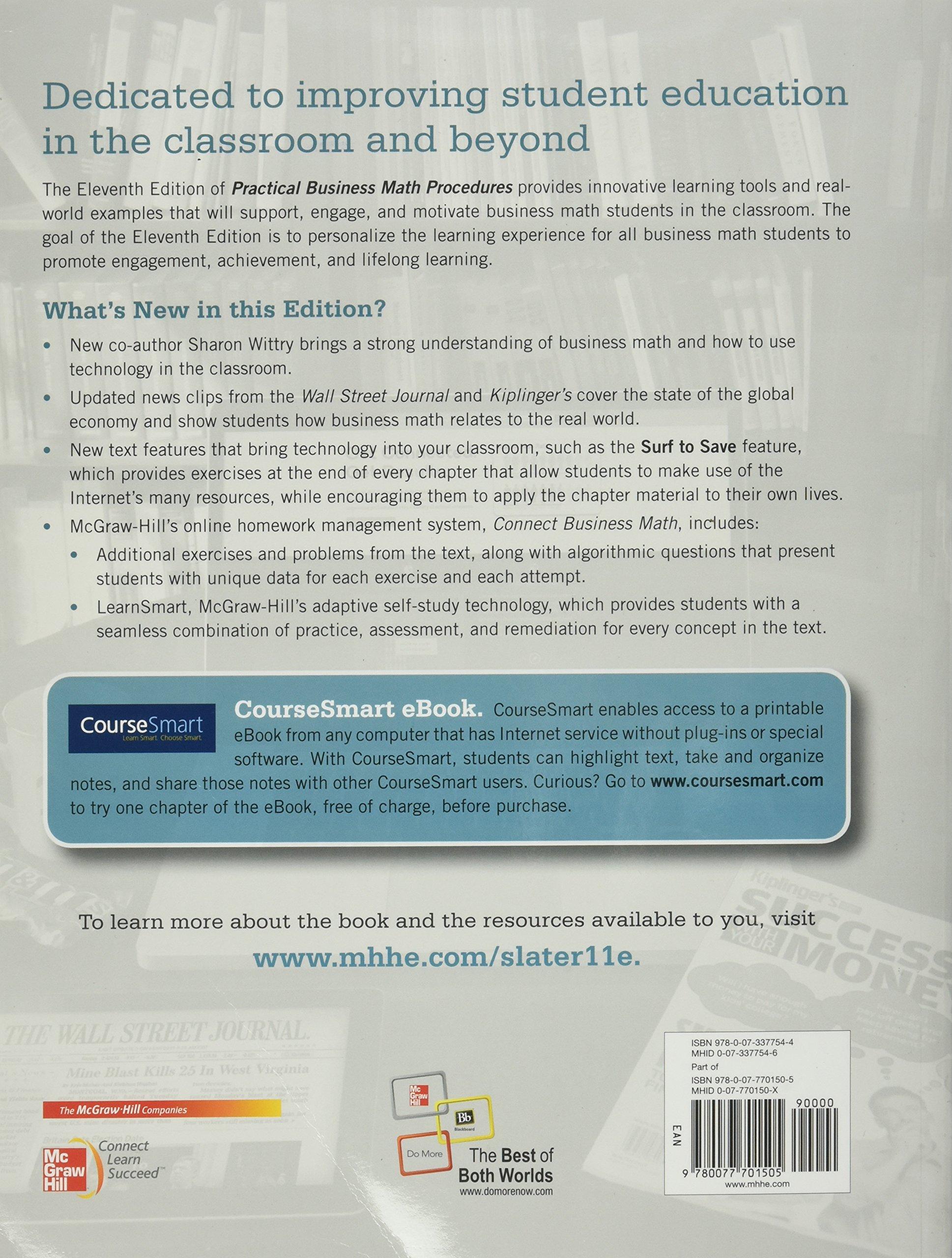Buy Practical Business Math Procedures with Handbook, Student DVD ...