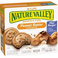 Peak Edition Nature Valley Granola Cups, Peanut Butter Chocolate, 6.75 oz (5 Pouches)