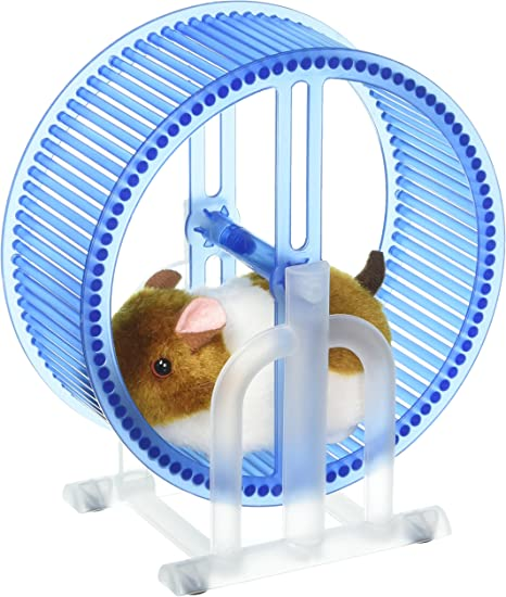 Happy Hamster Spinning Exercise Wheel Children S Kid S Electronic Toy Pet Playset W Hamster Wheel Stand Colors May Vary Electronic Pets Amazon Canada