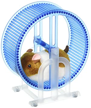 Ejercicio Rueda esVelocity Happy Toys De Hamster Amazon Spinning 5RL34Ajq