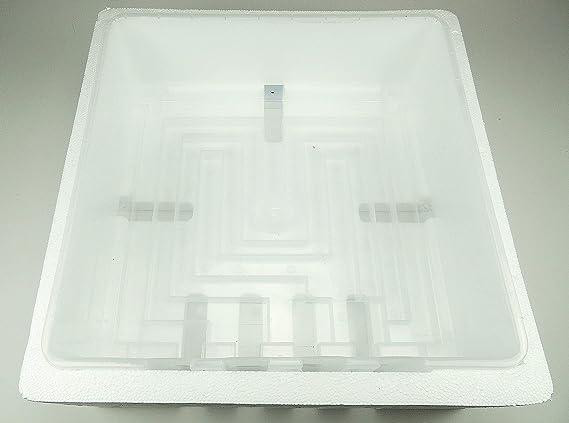 Wendung Brutapparat f/ür bis zu 60 Eier Inkubator Inkubator Campo24 S60 Motorbr/üter autom