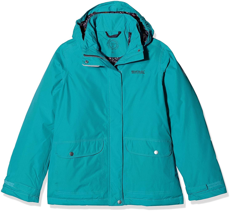 655aa97f0 Regatta Girls' Spinney Waterproof Jacket