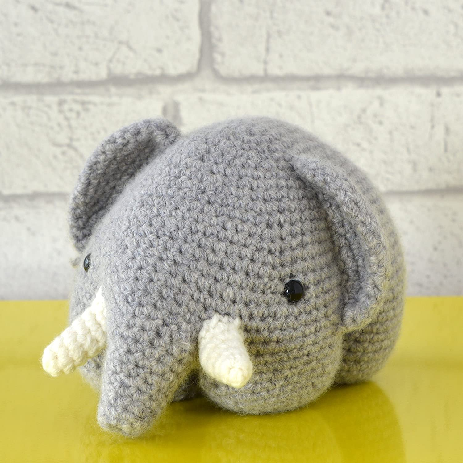 Elefante Amigurumi Kit para tejer de ganchillo, ganchillo, de los animales patrón de Crochet, patrones de Crochet, ganchillo Animal Patrón, patrón, ganchillo Kits,: Amazon.es: Hogar