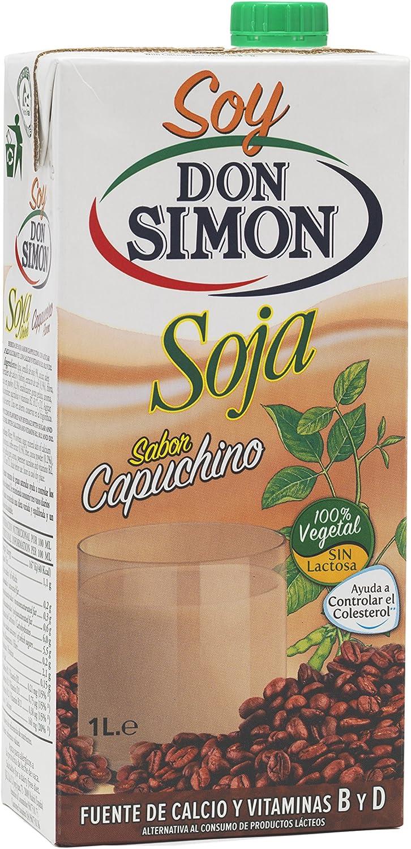 Don Simon Bebida de Soja con Capuchino - Paquete de 12 x 1 l - Total: 12 l: Amazon.es: Alimentación y bebidas