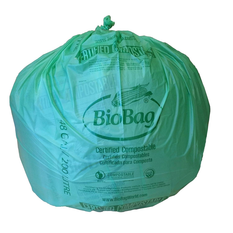 Amazon.com: BioBag, The Original Compostable Bag, Compostable Liners ...