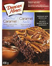 Duncan Hines Premium Brownie Mix, Salted Caramel, 498g