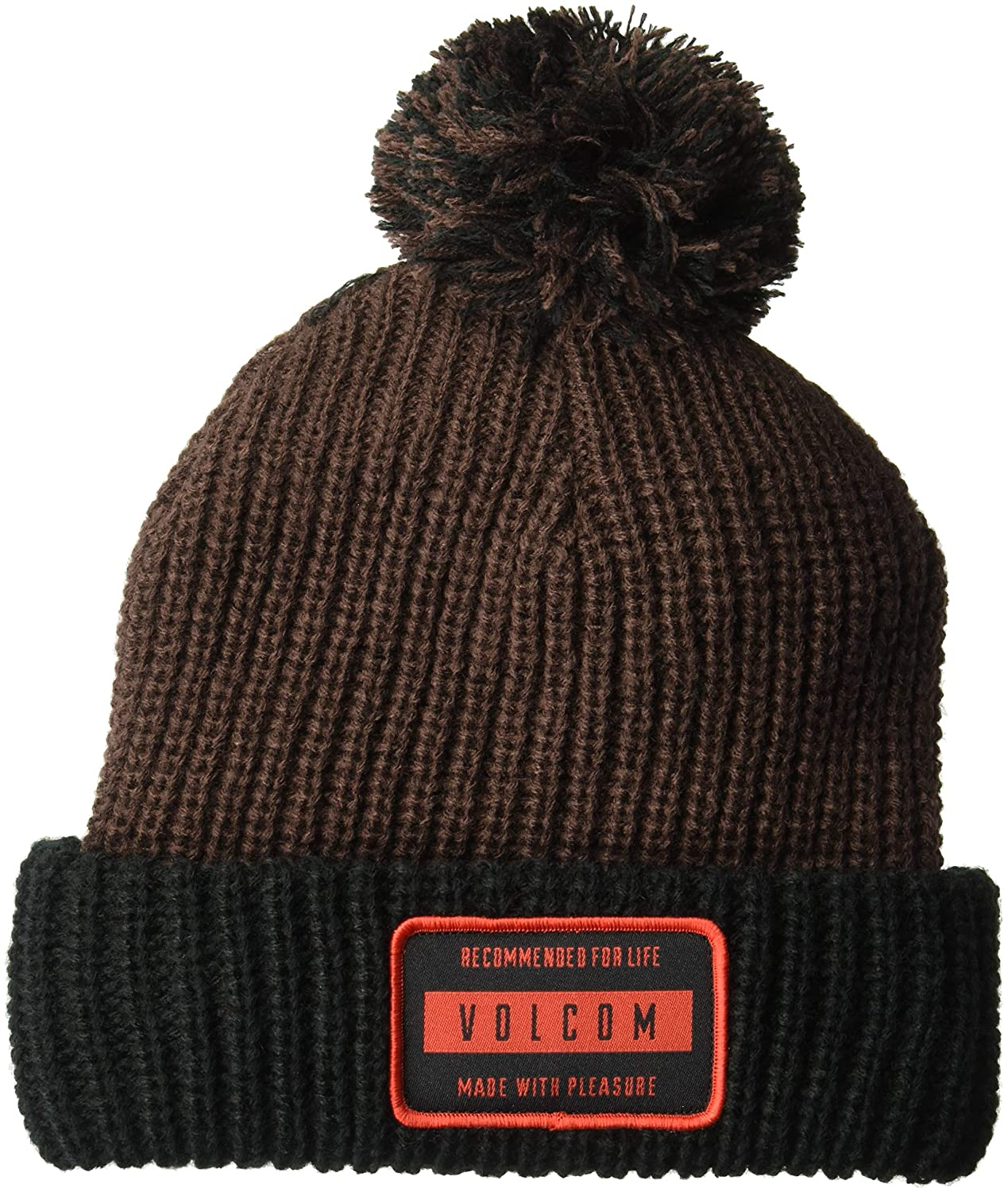 442dc0aa32d Volcom Men s TTT Fleece Lined Beanie Black One Size Fits All J5851907