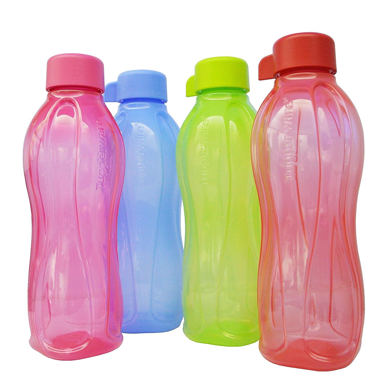 Amazon.com: Tupperware 500 ml Botella de agua 4 * 500 ml ...