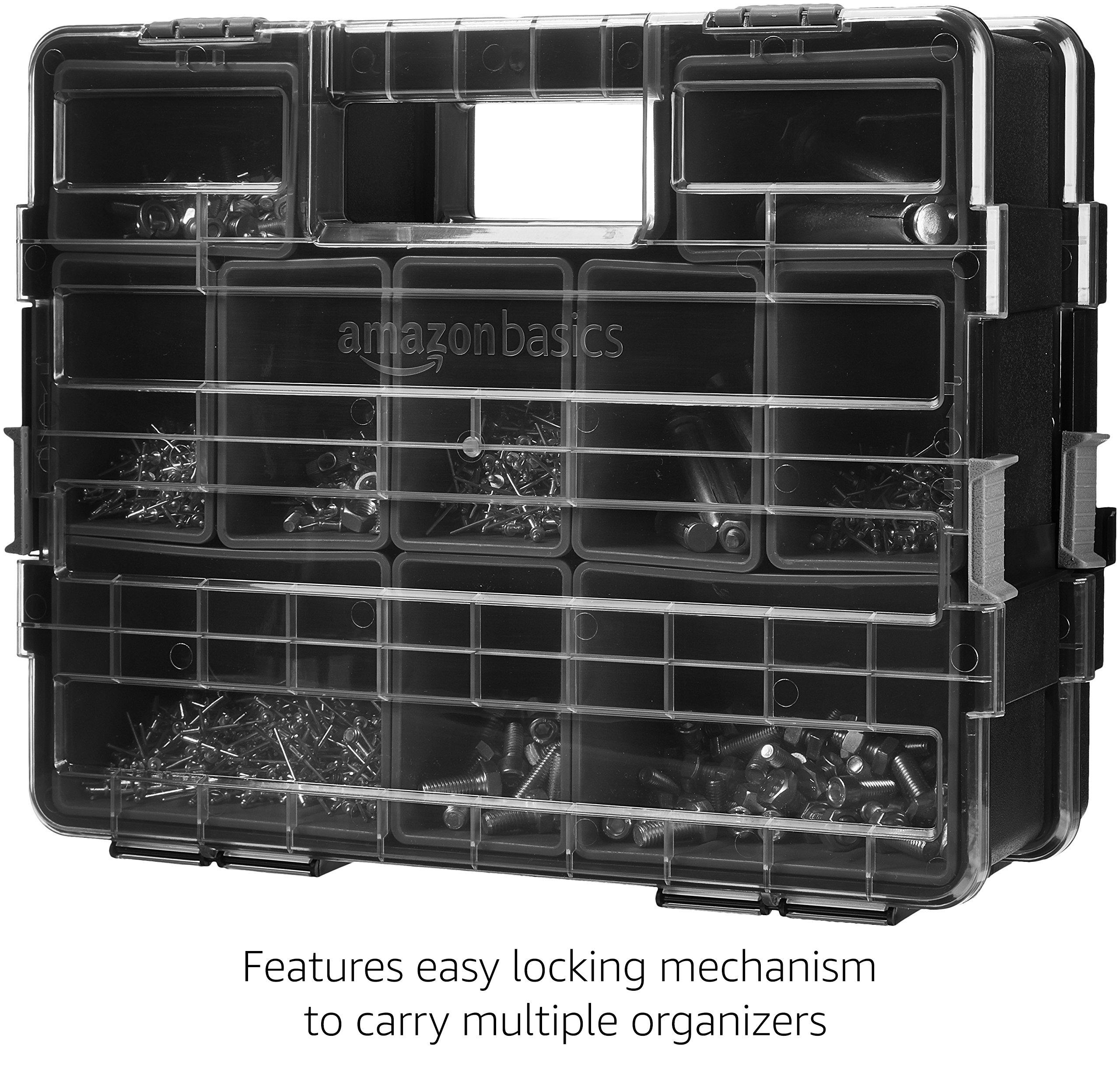 AmazonBasics Tool Organizer - 10 Compartments by AmazonBasics (Image #4)