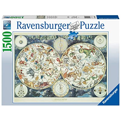 Ravensburger 16003 Map of The World 1500 Piece Puzzle for Adults - Every Piece is Unique, Softclick Technology Means Pieces Fit Together Perfectly: Toys & Games [5Bkhe1201063]