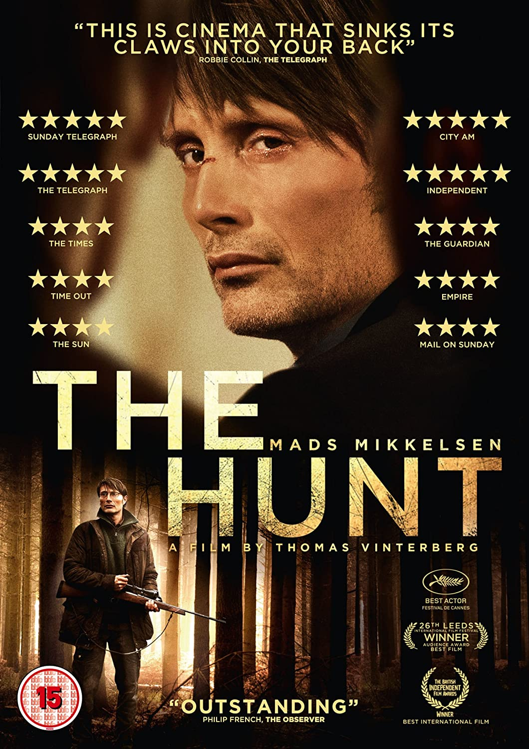 the hunt jagten dvd co uk mads mikkelsen lasse the hunt jagten dvd co uk mads mikkelsen lasse fogelstrom annika wedderkop thomas bo larsen thomas vinterberg dvd blu ray
