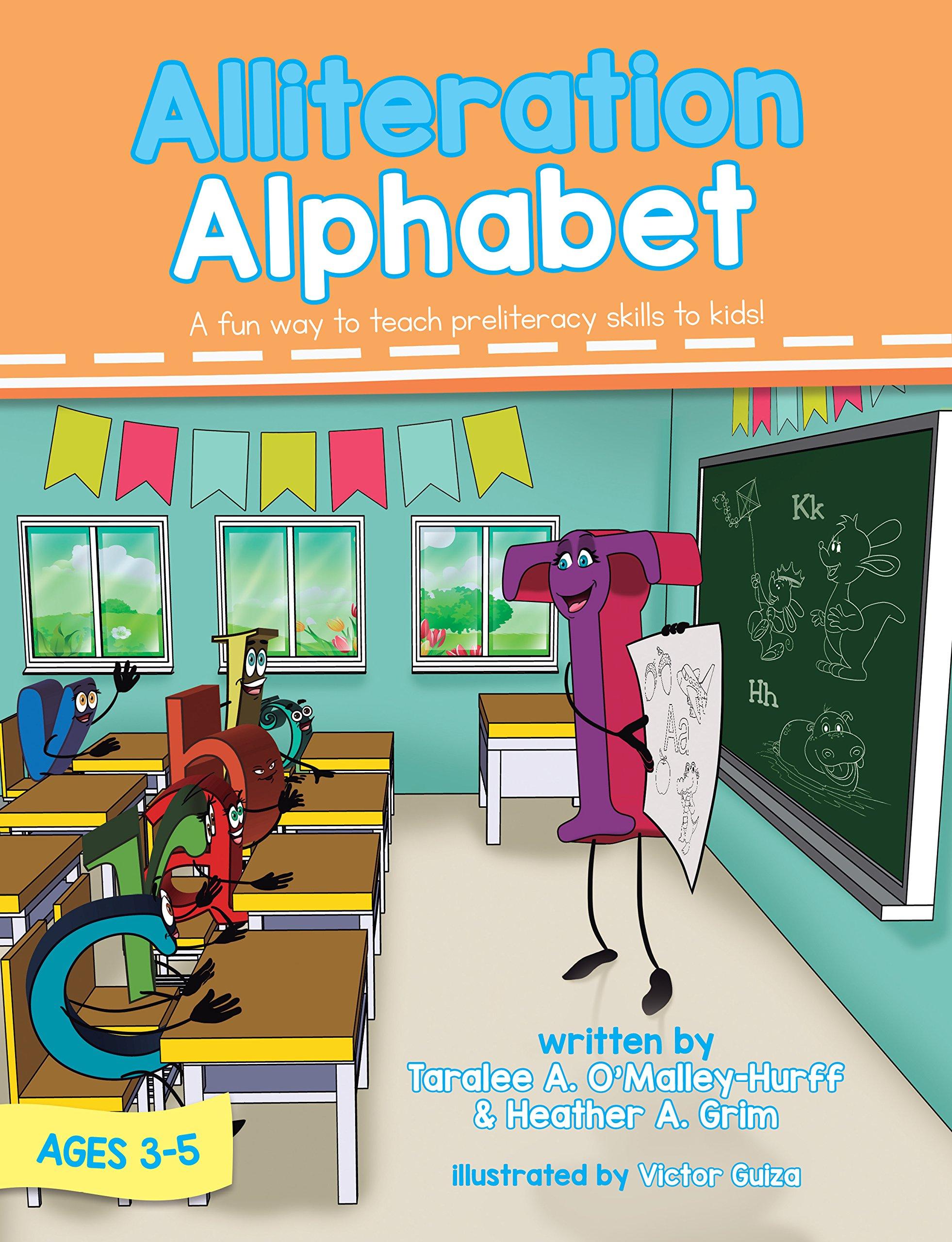 Alliteration Alphabet: A fun way to teach preliteracy skills to kids!