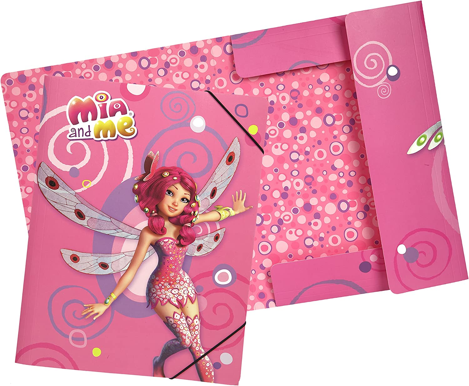 Undercover MMKO0300 Mia and Me Gummizugmappe A4