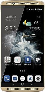 ZTE Axon 7Unlocked Smartphone,64GB Ion Gold (US Warranty)