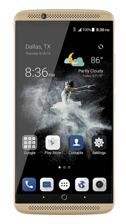 ZTE Axon 7 Unlocked Smartphone,64GB Ion Gold (US Warranty)