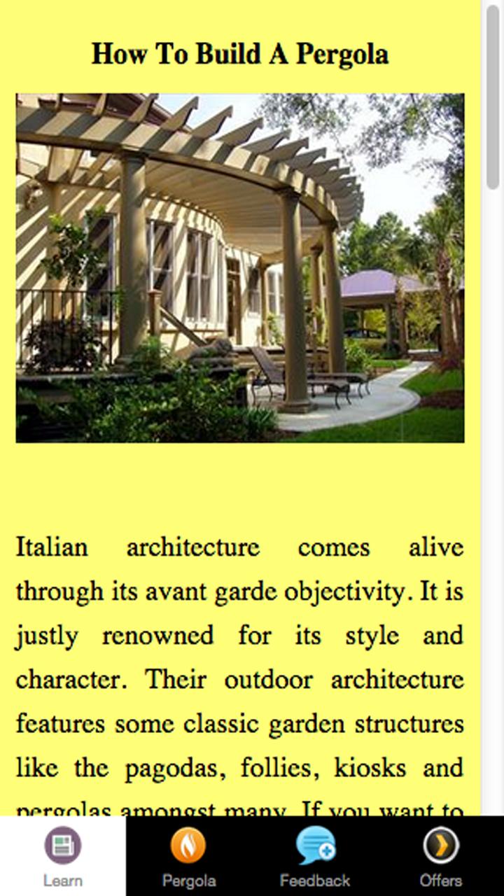 How To Build A Pergola - Outdoor Living Room: Amazon.es: Appstore ...