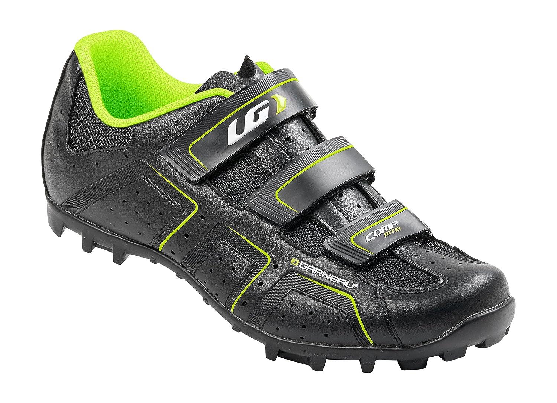 Louis Garneau Tribal Comp - par de zapatos de montaña, negro, Hombre, Comp MTB, negro, Pointure 39