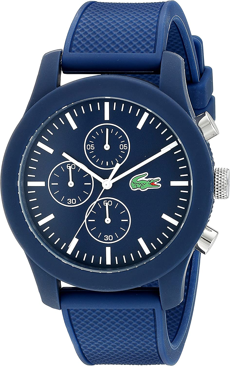 Lacoste Men's 2010824 12.12 Analog Display Japanese Quartz Blue Watch
