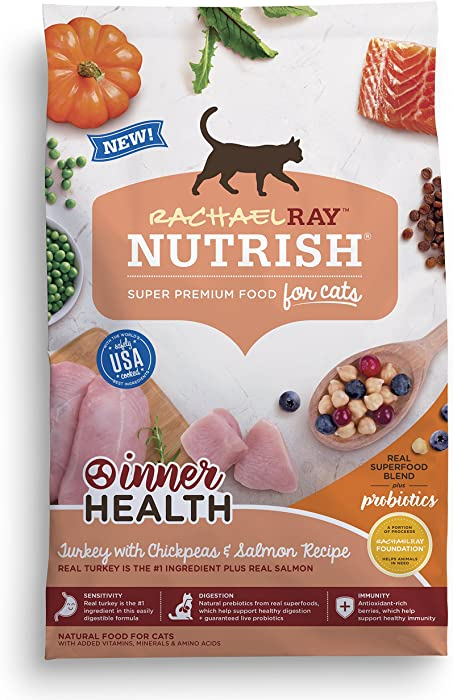 The Best Rachael Ray Nutrish Natural Dry Cat Food 3Lbs
