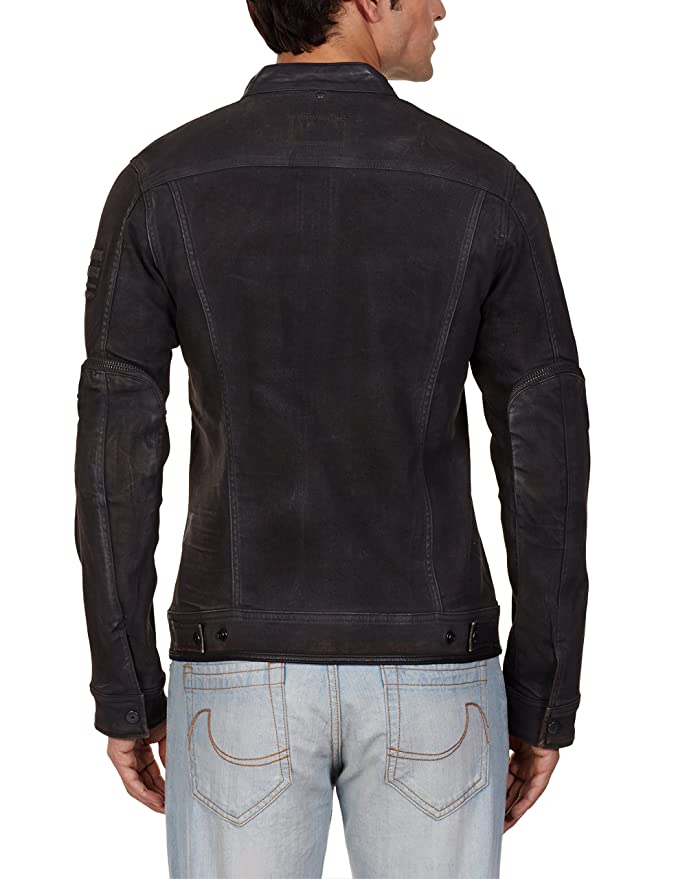Amazon.com: G-Star Raw Mens Revend 3D Slim Jacket In Slander Black Superstretch Dk Aged Cobler, Dark Aged Cobbler, Large: Clothing