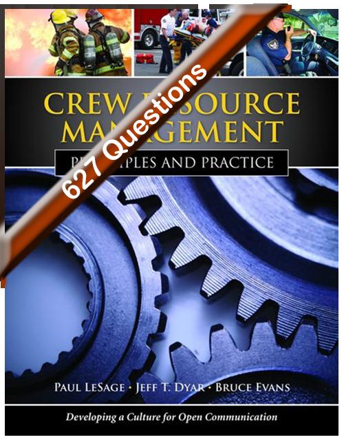 Crew Resource Management Principles and Practice Exam Bank - Online Coupon [Online -