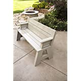 """Premiere Products 5RCATA Tan Convert A Bench, Approximate Size: Table 27"""" H x 14"""" D 31"""" H x 58"""" L Seat 17"""" H x 14"""" D Weighs 3"""