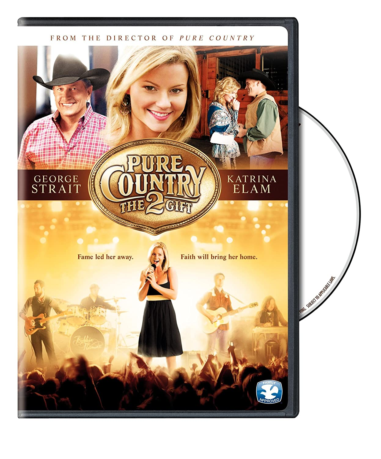 Amazon.com: Pure Country 2: The Gift: Hunt Lowry, Christopher Cain ...