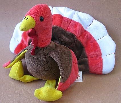 Amazon Com Ty Beanie Babies Gobbles The Turkey Plush Toy Stuffed