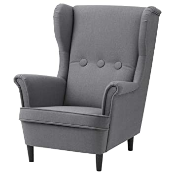 IKEA.. 403.925.48 Strandmon - Sillón Infantil, Color Gris: Amazon.es ...