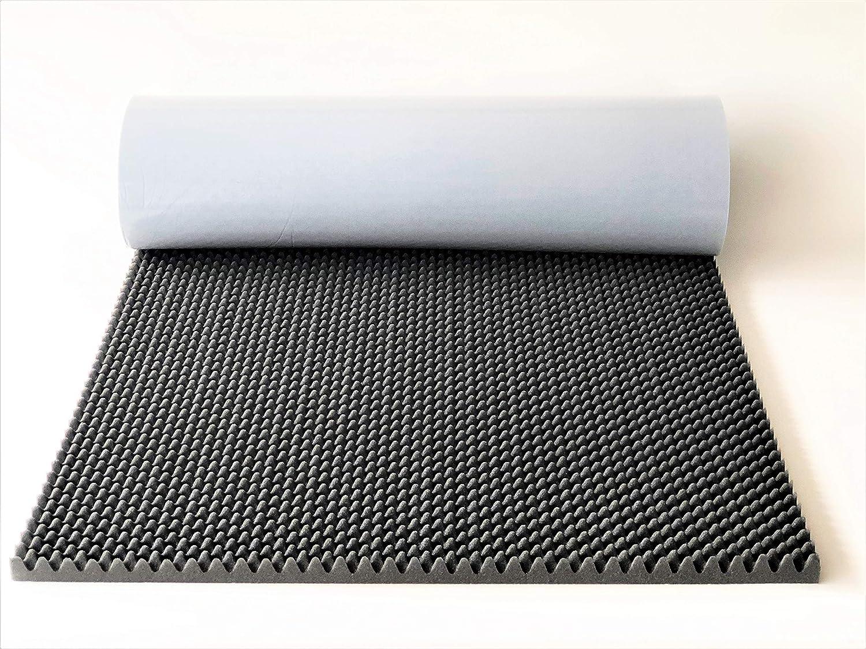 Mousse acoustique /à picots autocollante 200 x 100 x 4 cm