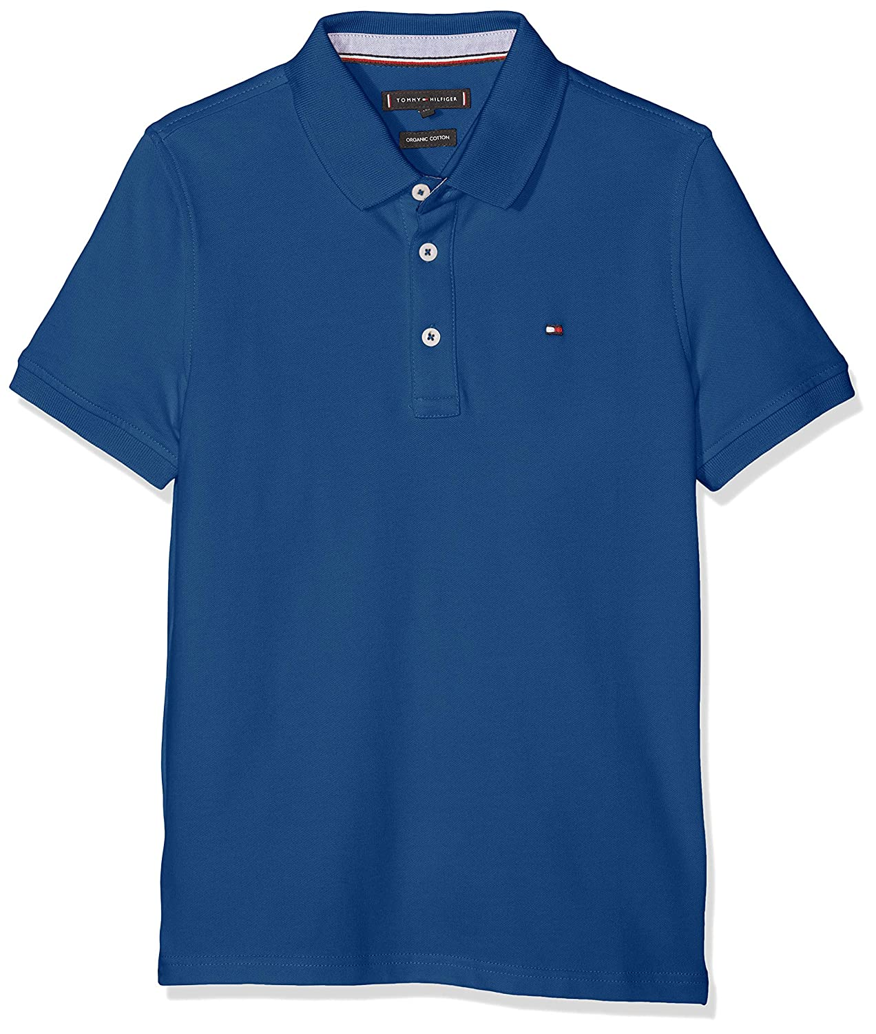 Tommy Hilfiger Jungen Essential Tommy Reg Polo S//S Poloshirt