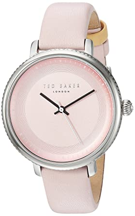 9639220abd5 Ted Baker Women s  ISLA  Quartz Stainless Steel and Leather Dress Watch
