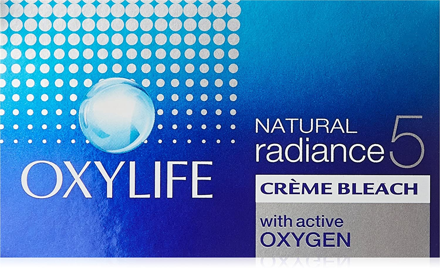 Oxy Life Natural Radiance5 Creme Bleach Oxygen Power with Skin Radiance Serum 27g by OxyLife Dabur India Limited FM038027