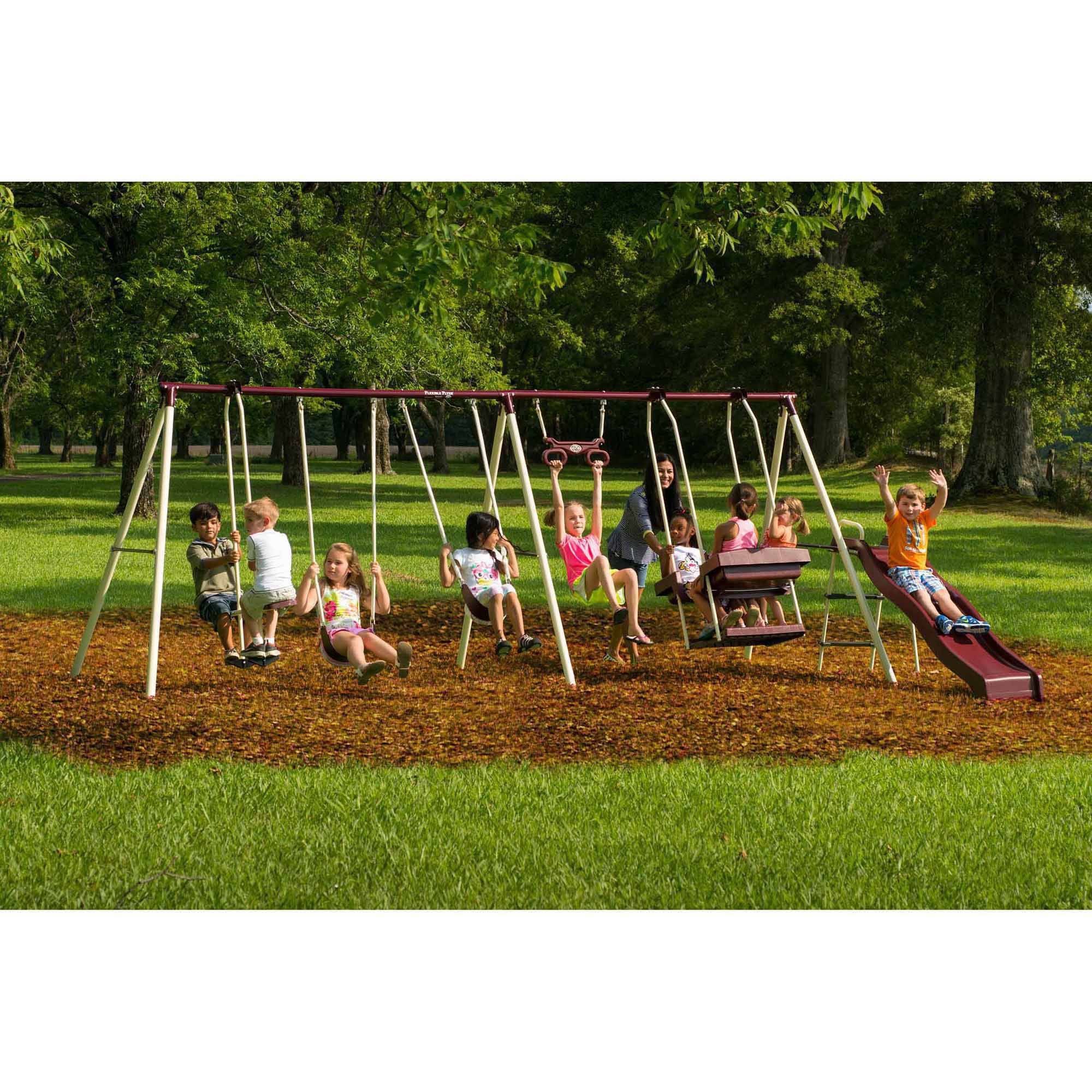 Flexible Flyer Play Park Metal Swing Set by Flexible Flyer (Image #1)