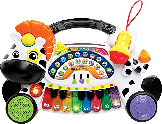 VTech Jungle Rock Mon Piano - juguetes musicales (AA) en idioma francés: Amazon.es: Juguetes y juegos