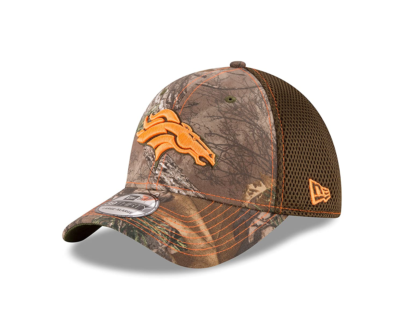 d4f7bfa1 Amazon.com : New Era NFL Realtree NEO 39THIRTY Stretch Fit Cap : Clothing