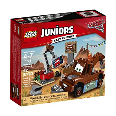 LEGO Juniors Mater's Junkyard 10733 Building Kit: Toys & Games