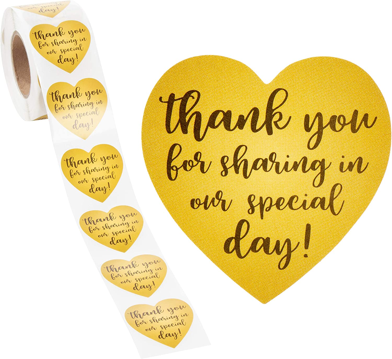 Make Today Count Cursive /& Heart Sticker