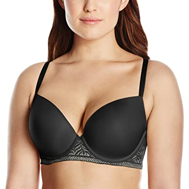 1420978d59 Paramour Women s Plus Size Carolina Seamless Plunge Contour T-Back Bra