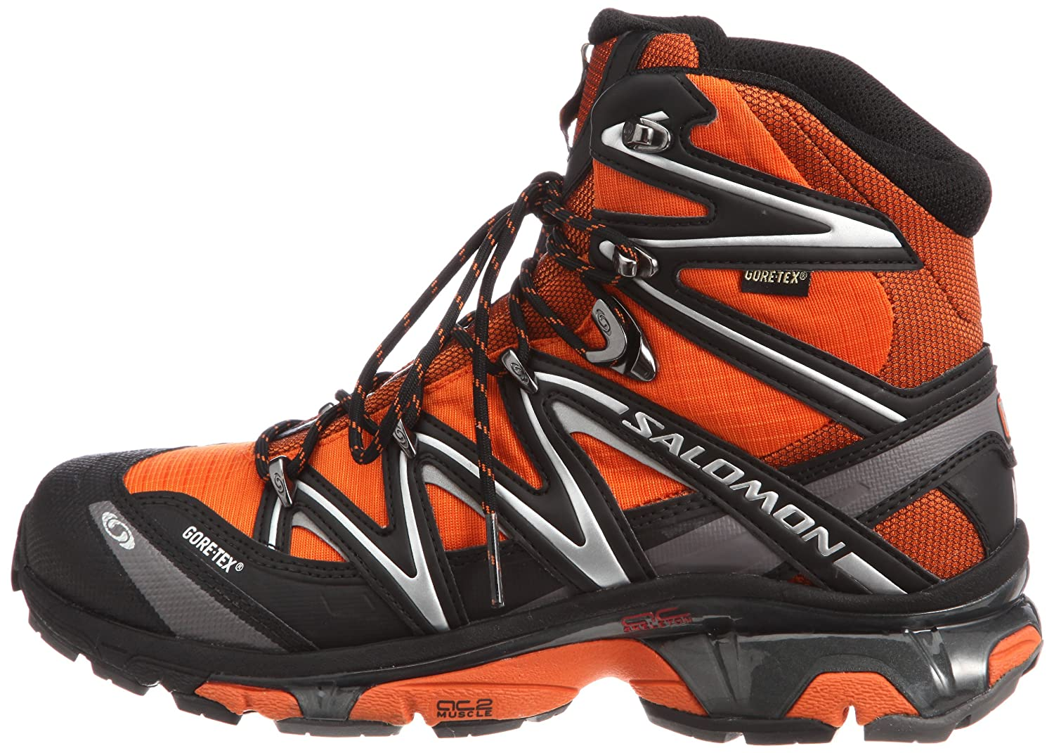 Amazon.com | Salomon Mens Wings Sky GTX Fast Light Backpacking Boot, Xgames/Black/Autobahn, 12.5 M US Mens/14.5 M US Womens | Backpacking Boots