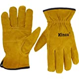 Kinco 51pl-xl Lined Split Cowhide Leather Driver Gloves, X-large