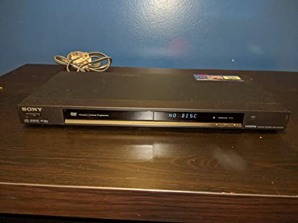amazon com sony dvp ns72hp single disc upscaling dvd player black rh amazon com Sony DVD Player Sony DVR